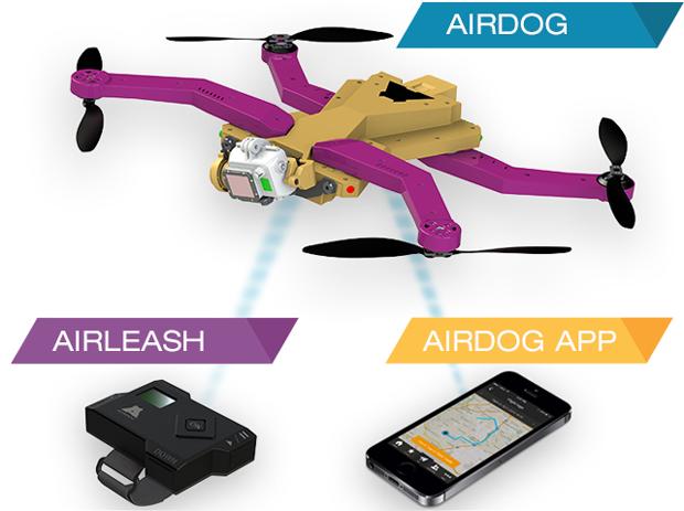 kvadrokoptéra airdog