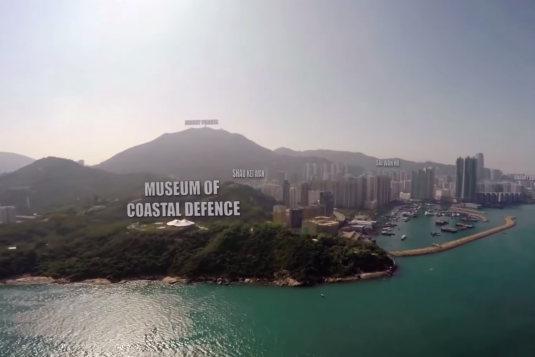 doručování pomocí dronů hongkong