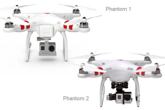 srovnání phantom 1 a phantom 2