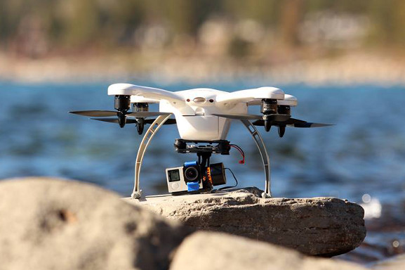 varianta dronu kvadrokoptéry ghost