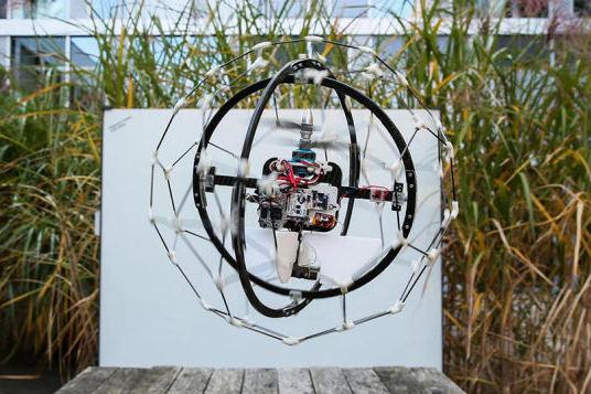 záchranný dron gimball