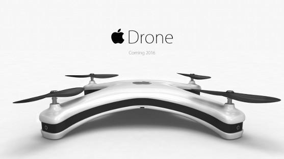 koncept apple dronu