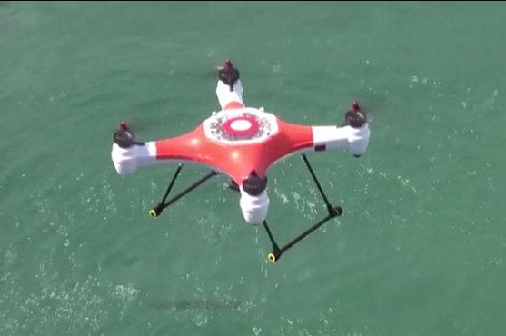 kvadrokoptéra dron splash