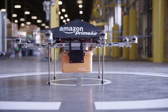 Ilustrační foto dronu Amazon Prime Air | Zdroj: amazon.com