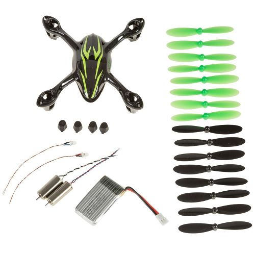 crash set hubsan x4 h107
