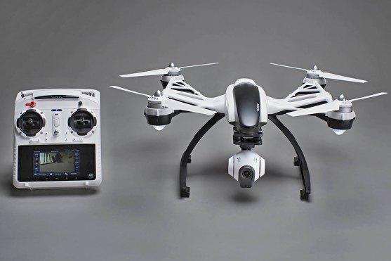 dron yuneec q500 typhoon