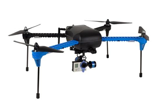 Kvadrokoptéra IRIS+ od 3D Robotics | Zdroj: 3drobotics.com
