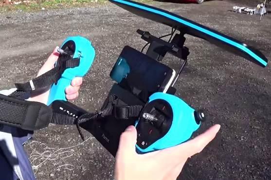 parrot bebop ovládání skycontroller