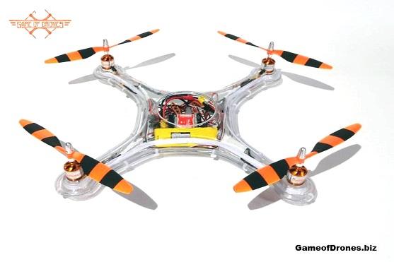 Kvadrokoptéra Hiro byla vyvinuta jako bojový dron a je schopna ustát všelijaké kousky | Zdroj: gameofdrones.com