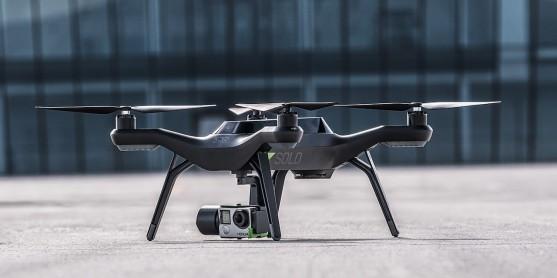 Dron Solo s kamerou GoPro | Zdroj: 3drobotics.com