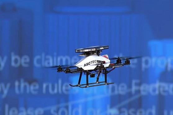 Dron AscTec Firefly | Zdroj: video