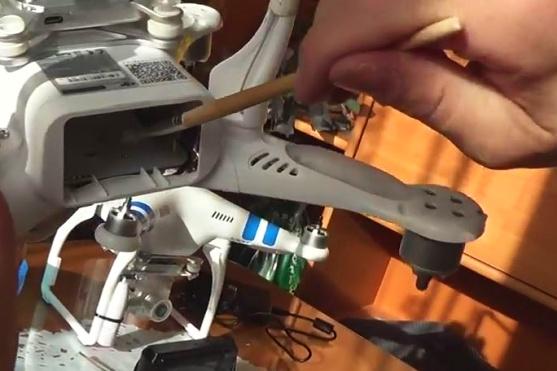 impregnace dronu proti vlhkosti