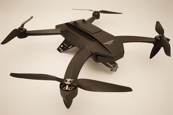Kvadrokoptéra Black Ops Drone od firmy Virtual Robotics | Zdroj: virtualrobotics.it