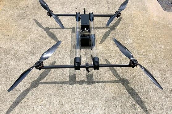 Kvadrokoptéra Hycopter od společnosti Horizon Unmanned Systems | Zdroj: hus.sg