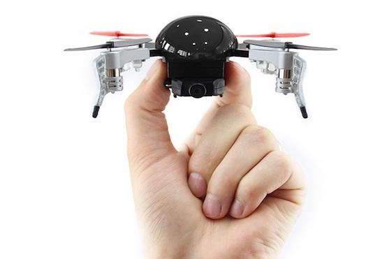 Kvadrokoptéra Micro Drone 3.0 | Zdroj: indiegogo.com - Micro Drone 3.0