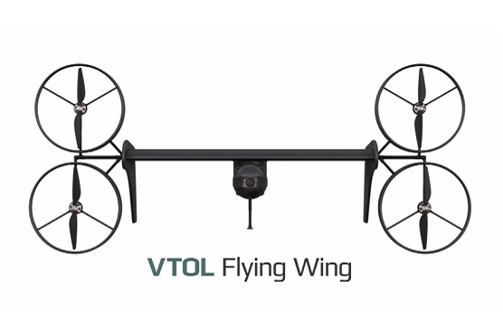 VTOL Flying Wing | Zdroj: video