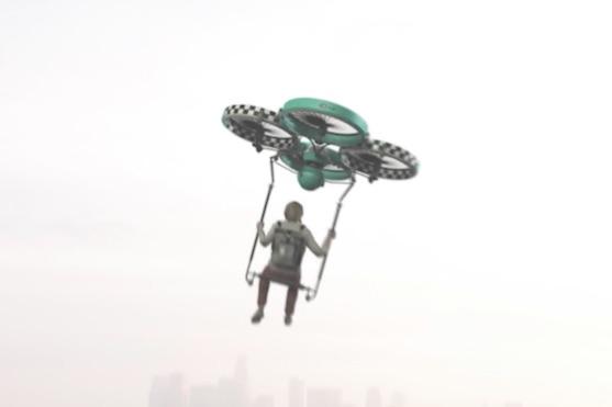 Drone taxi pro osobní přepravu | Zdroj: video