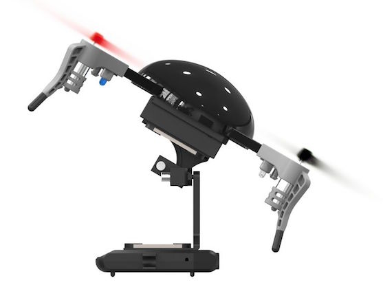 Gimbal s kamerou | Zdroj: indiegogo.com - Micro Drone 3.0