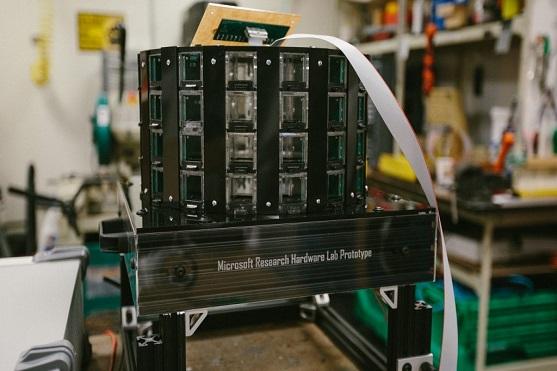 Prototyp pasti na komáry | Zdroj: microsoft.com