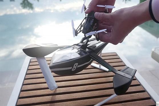 Obojživelný dron Parrot Hydrofoil | Zdroj: parrot.com