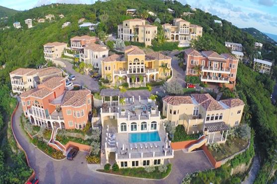 Záběr z dronu na nemovitosti | Zdroj: dji.com