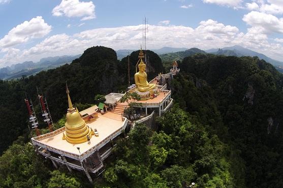 Pohled na chrám v Thajsku | Zdroj: dji.com - Drone Zone