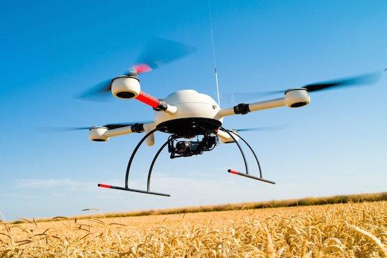 Kvadrokoptéra MD4-1000 firmy Microdrones, kterou využívá společnost Air Marine pro inspekce | Zdroj: microdrones.com