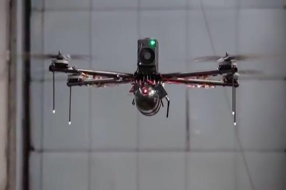 Kvadrokoptéra, která se vydržela vznášet téměř 4 hodiny | Zdroj: video