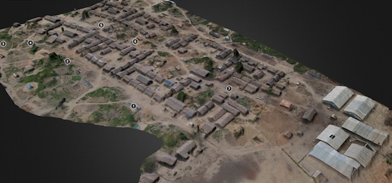 3D model tábora | Zdroj: irevolution.net - Matt Schroyer