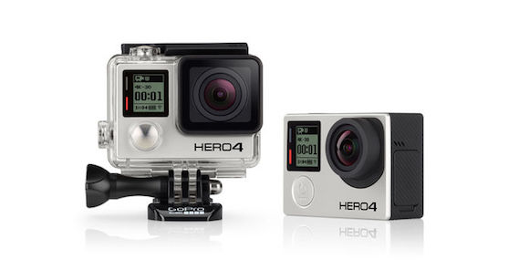 GoPro Hero 4 Black Edition | Zdroj: gopro.com