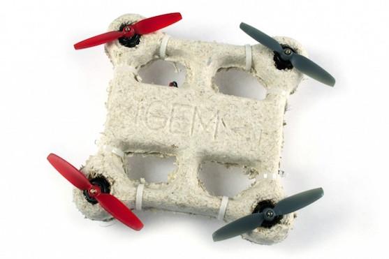 Biologicky rozložitelný dron | Zdroj: CNASA/Ames