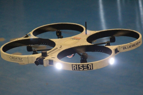 Inspekční dron RISER | Zdroj: suasnews.com