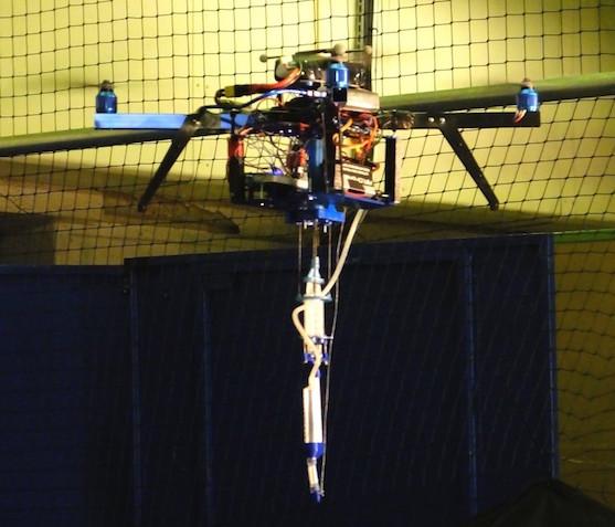 Létající 3D tiskárna | Zdroj: Imperial College London