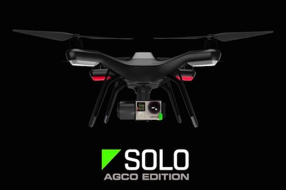 Kvadrokoptéra 3DR Solo Agco Edition | Zdroj: video