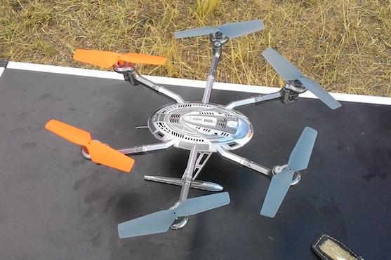 Hexakoptéra Walkera Y100 DEVO 4 | Zdroj: droncentrum