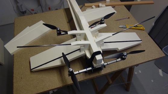 Fotografie z výroby pěnového těla | Zdroj: rcgroups.com - Olivier C