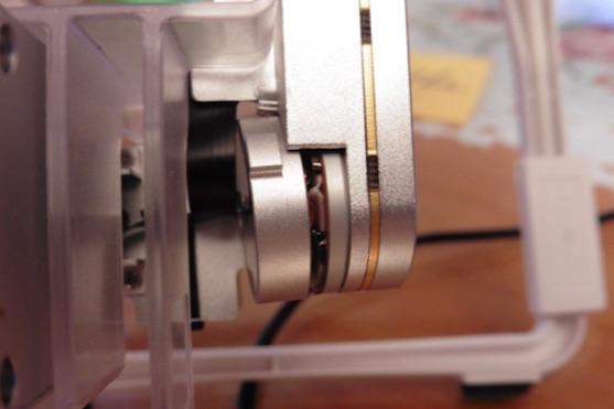 Deformace gimbalu | Zdroj: droncentrum