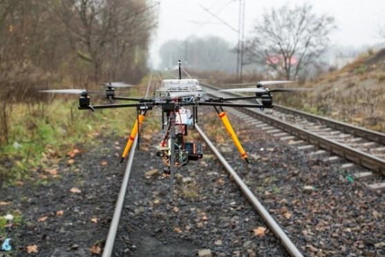 Drony v Polsku pomáhají chytat zloděje | Zdroj: PKP Cargo