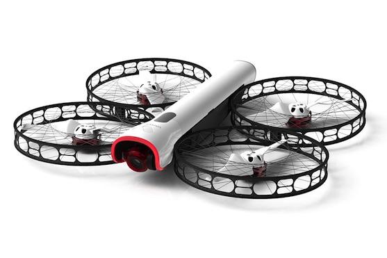 Kvadrokoptéra Snap se 4K kamerou a konstrukcí ochraňující rotory | Zdroj: vantagerobotics.com
