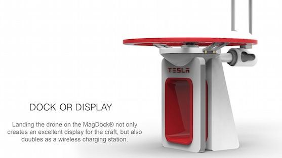 Nabíjecí stanice MagDock | Zdroj: behance.net - Frazer Leid