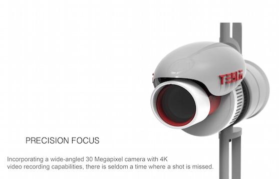 30 Mpix 4K kamera | Zdroj: behance.net - Frazer Leid