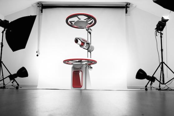 Futuristický koncept dronu Tesla | Zdroj: behance.net - Frazer Leid