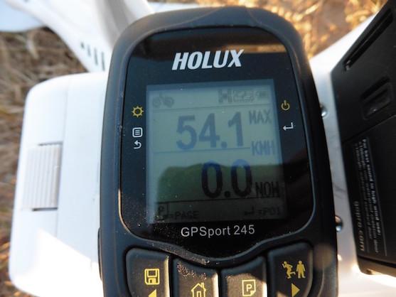 Maximální rychlost v GPS módu | Zdroj: droncentrum