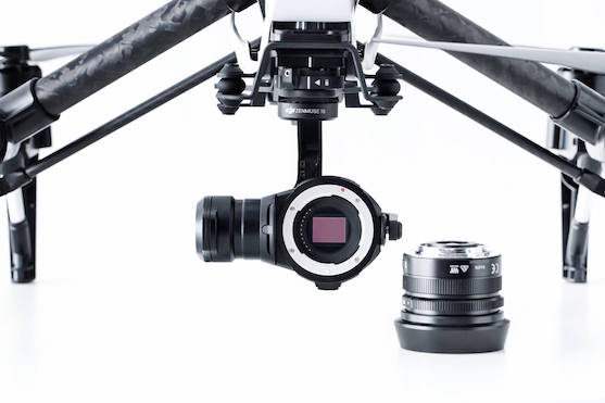 Kamera Zenmuse X5 | Zdroj: dji.com