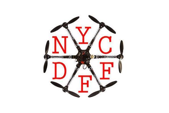 Logo festivalu New York City Drone Film Festival | Zdroj: facebook.com - NYCDFF