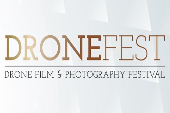 Logo mezinárodního filmového festivalu Dronefest | Zdroj: dronefestival.co.uk