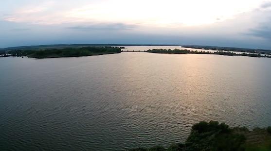 Vodní nádrž Nové Mlýny | Zdroj: droncentrum