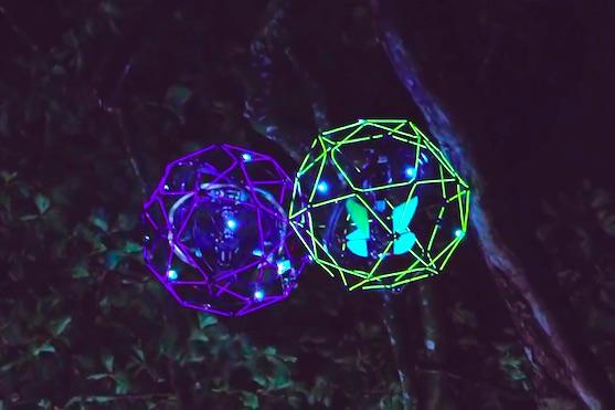 Upravené drony Gimball od Flyability | Zdroj: video