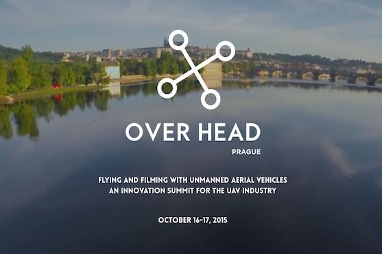 V Praze se bude konat mezinárodní konference dronů - Overhead Prague | Zdroj: overheadprague.com