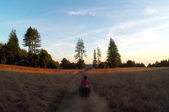První zveřejněné záběry z dronu GoPro | Zdroj: video